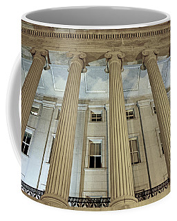 Coffee Mug featuring the photograph Columns Of History by Suzanne Stout