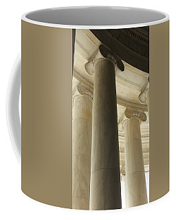 Columns Stand Guard Coffee Mug