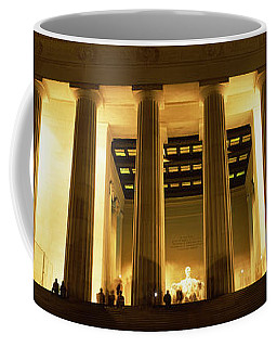 Columns Surrounding A Memorial, Lincoln Coffee Mug