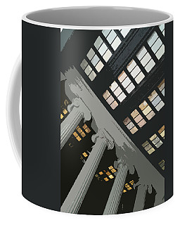 Columns Coffee Mug by Julio Lopez