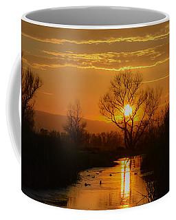 Colusa Wildlife Refuge Sunset Coffee Mug