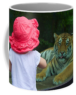 Coffee Mug featuring the photograph Come A Little Closer by Dave Files