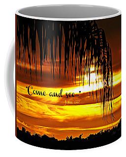 Come And See Coffee Mug by Sharon Soberon