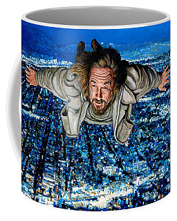 Coffee Mug featuring the painting Come Fly With Me by Tom Roderick