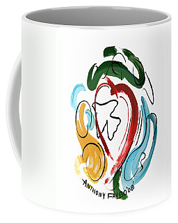 Coffee Mug featuring the painting Come Into My Heart by Anthony Falbo
