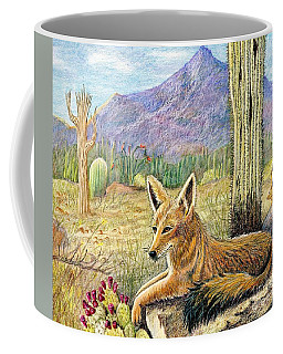 Come One Step Closer Coffee Mug by Marilyn Smith