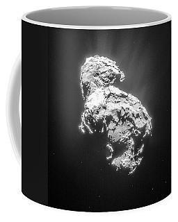 Coffee Mug featuring the photograph Comet 67pchuryumov-gerasimenko by Science Source