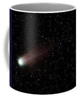 Coffee Mug featuring the photograph Comet Hyakutake by Christopher McKenzie