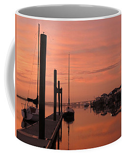 Coffee Mug featuring the photograph Just Rosy by Laura Ragland
