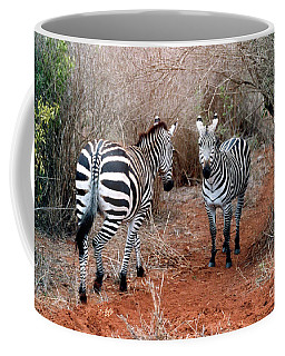 Coffee Mug featuring the photograph Coming And Going by Phyllis Kaltenbach