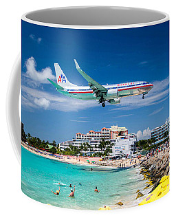 Coming In For Landing Coffee Mug