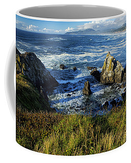 Coffee Mug featuring the photograph Coming Together by Belinda Greb