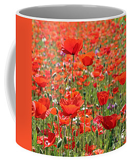 Commemorative Poppies Coffee Mug