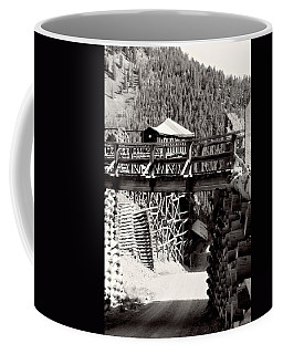 Coffee Mug featuring the photograph Commodore Ore Bins by Lana Trussell