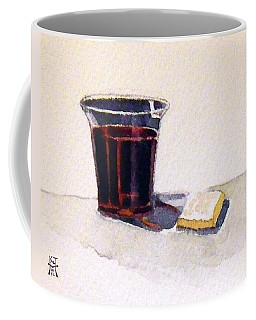 Coffee Mug featuring the painting Communion by Katherine Miller