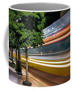 Dallas Commuter Train 052214 Coffee Mug