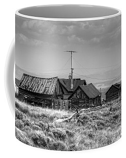 Coffee Mug featuring the photograph Como In Black And White by Lanita Williams