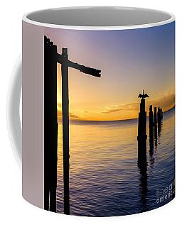 Comorant Greets The Sun Coffee Mug