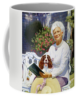Companions In The Garden Coffee Mug