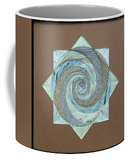 Coffee Mug featuring the mixed media Compass Headings by Ron Davidson