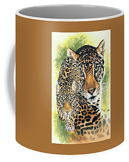 Coffee Mug featuring the mixed media Compelling by Barbara Keith