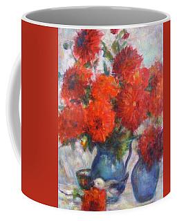 Complementary - Original Impressionist Painting - Still-life - Vibrant - Contemporary Coffee Mug