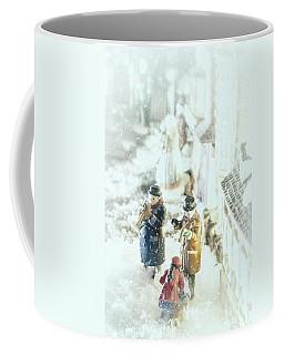 Concert In The Snow Coffee Mug