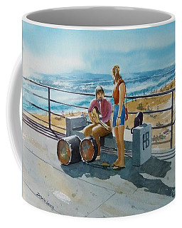 Concert In The Sun To An Audience Of One Coffee Mug