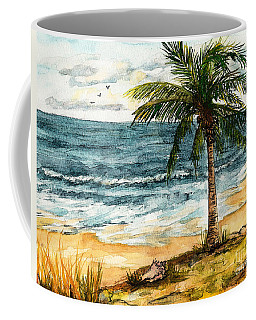 Conch Shell In The Shade Coffee Mug
