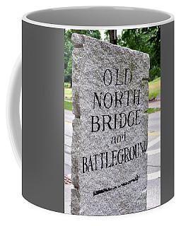 Concord Ma Old North Bridge Marker Coffee Mug