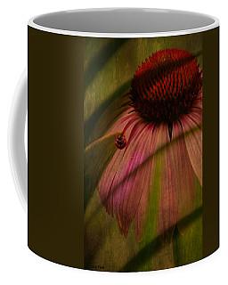 Cone Flower And The Ladybug Coffee Mug