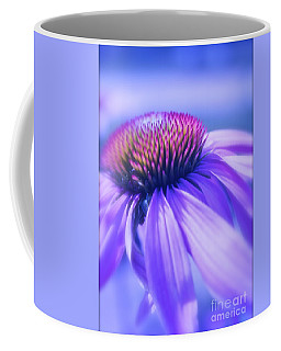 Cone Flower In Pastels  Coffee Mug