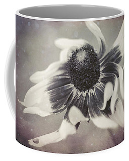 Coneflower In Monochrome Coffee Mug
