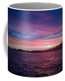 Coney Island Summertime Sunset Coffee Mug by John Telfer