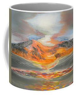 Confetti Mountain Coffee Mug by Tim Townsend