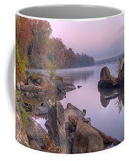 Congaree River At Dawn-1 Coffee Mug