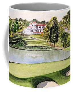 Congressional Golf Course 10th Hole Coffee Mug