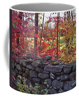 Connecticut Stone Walls Coffee Mug