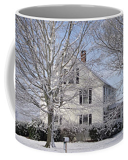 Connecticut Winter Coffee Mug