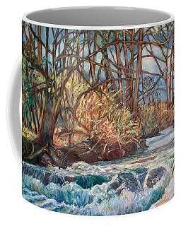Coffee Mug featuring the painting Connellys Run by Kendall Kessler