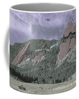 Construction Of The Flatirons - 1931 Coffee Mug