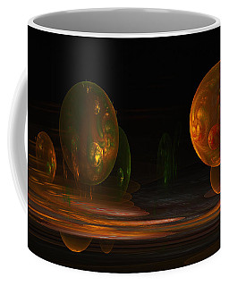 Consumed From Within Coffee Mug by GJ Blackman