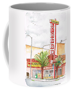 Consumers Liquor In Sunset Blvd - Hollywood - Ca Coffee Mug