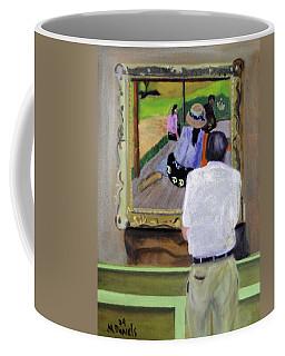 Contemplating Gauguin Coffee Mug