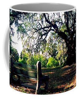 Coffee Mug featuring the photograph New Orleans Contemplating Solitude by Michael Hoard