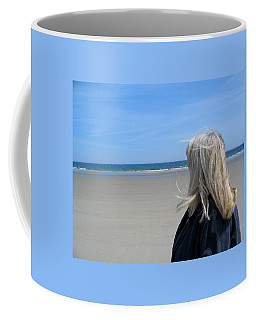 Contemplating The Stillness Coffee Mug
