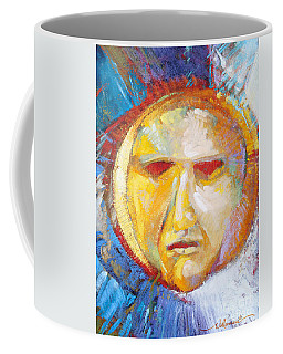 Contemplating The Sun Coffee Mug