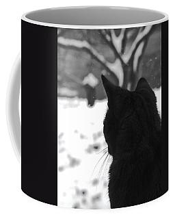 Contemplating Winter Coffee Mug