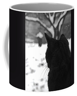 Contemplating Winter Coffee Mug