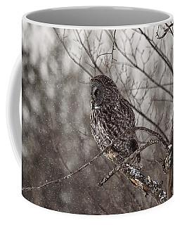 Contemplating Winter Coffee Mug by Eunice Gibb